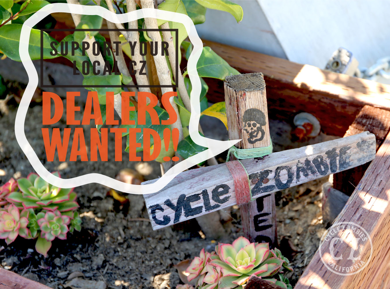 Cycle Zombies DEALERS WANTED!!