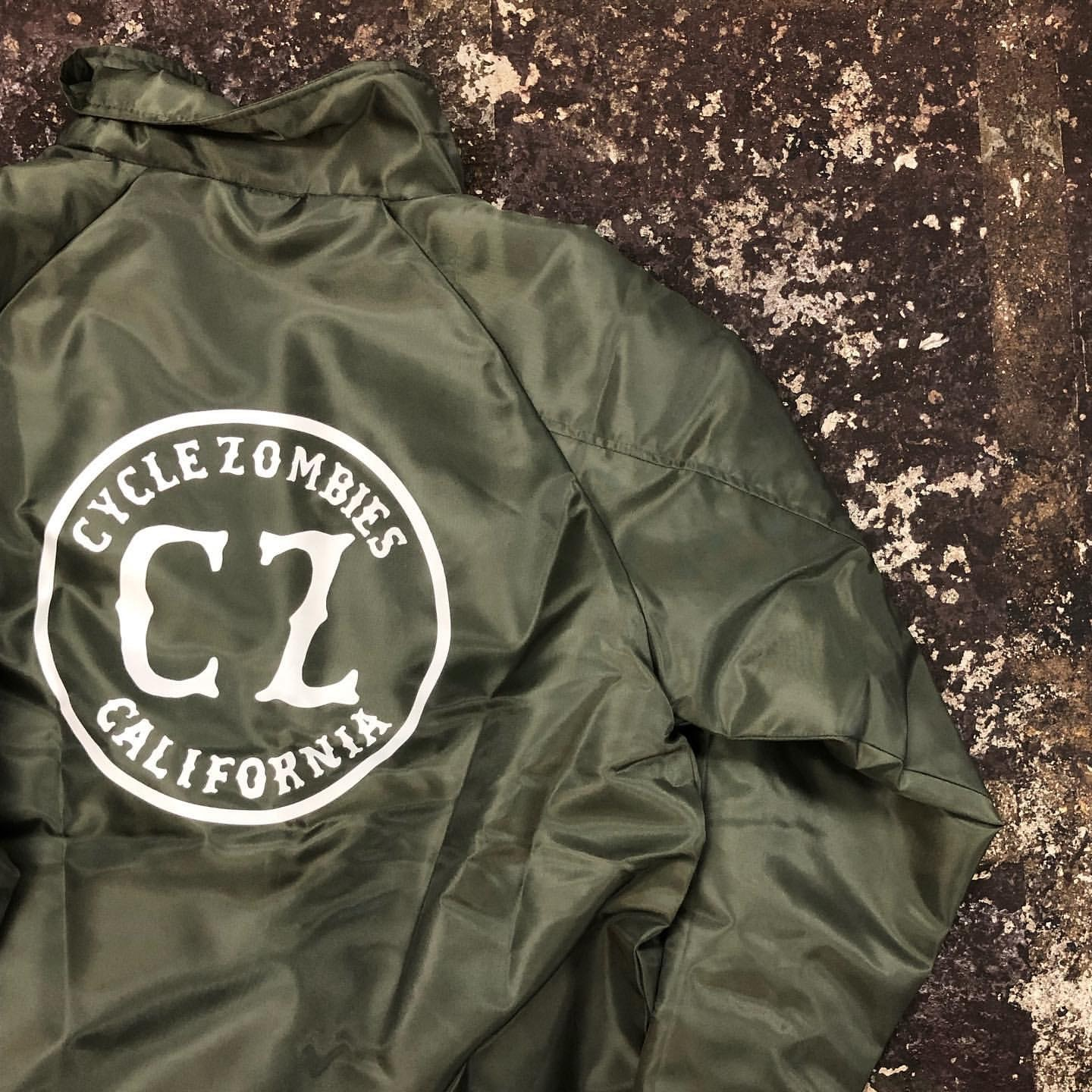 Cycle Zombies CALIFORNIA Premium Coaches Jacket !!!