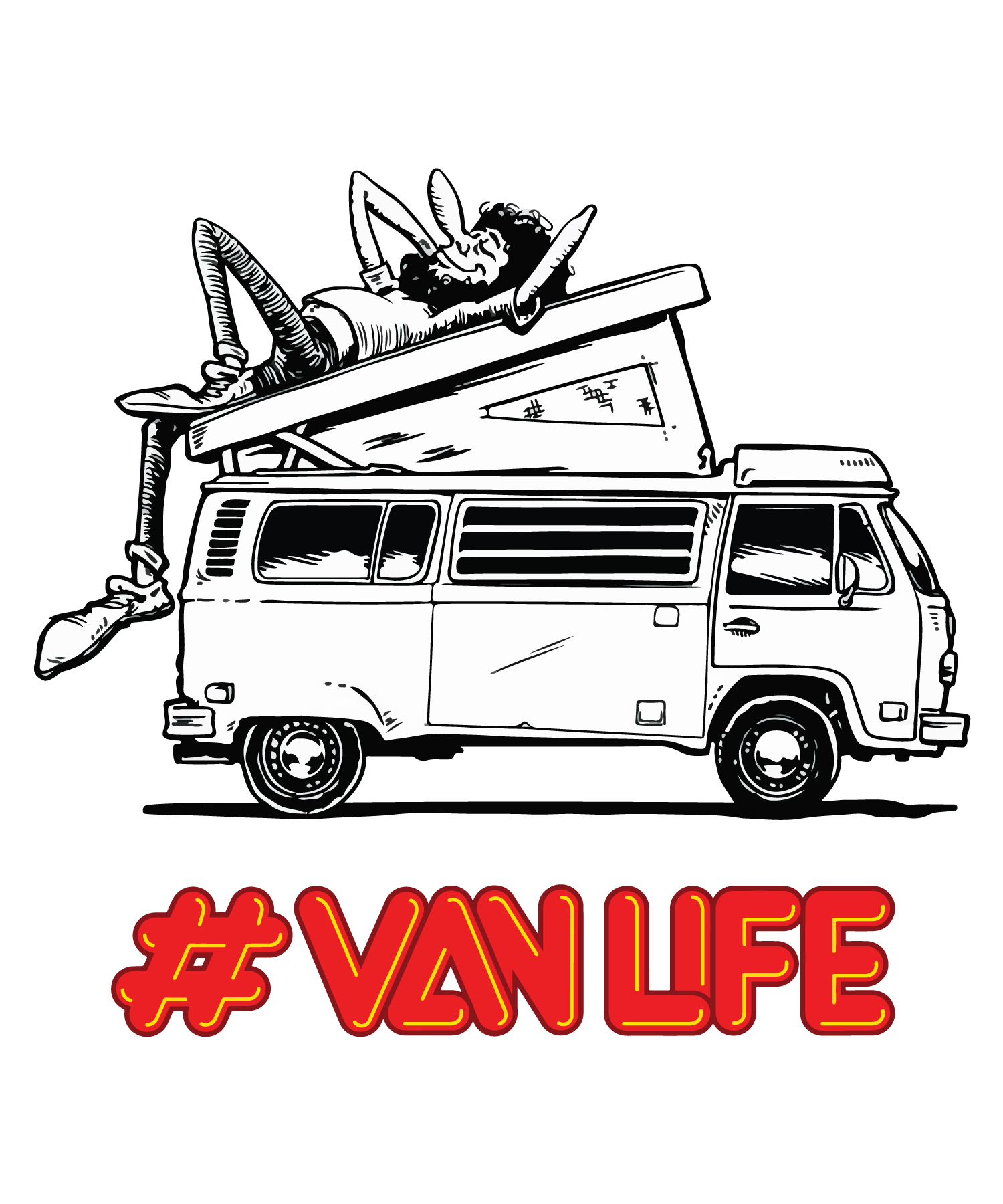 "Welcome to New Family!! ""VAN LIFE"""