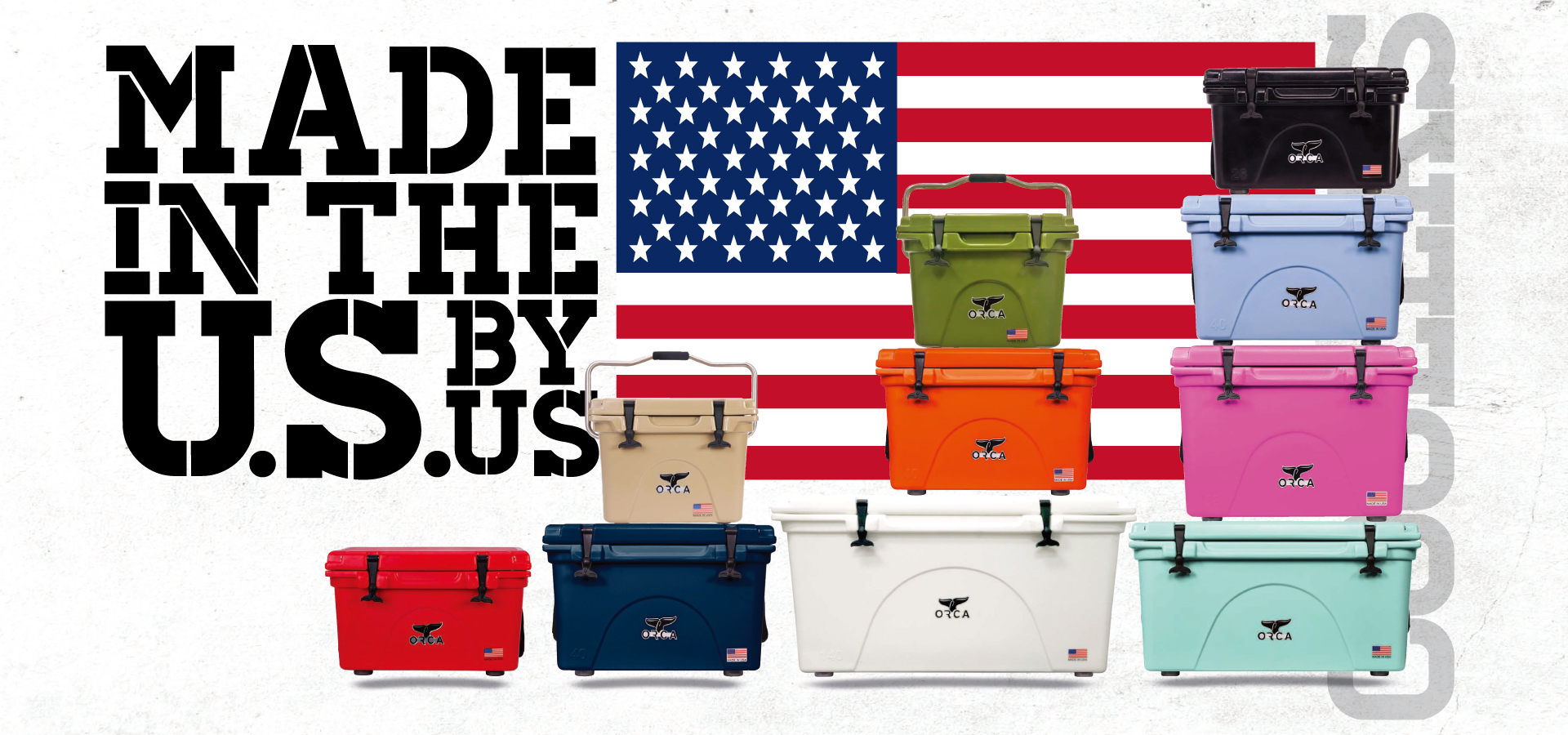Made in the USA!! ORCA Coolers 各サイズ、カラー入荷!!